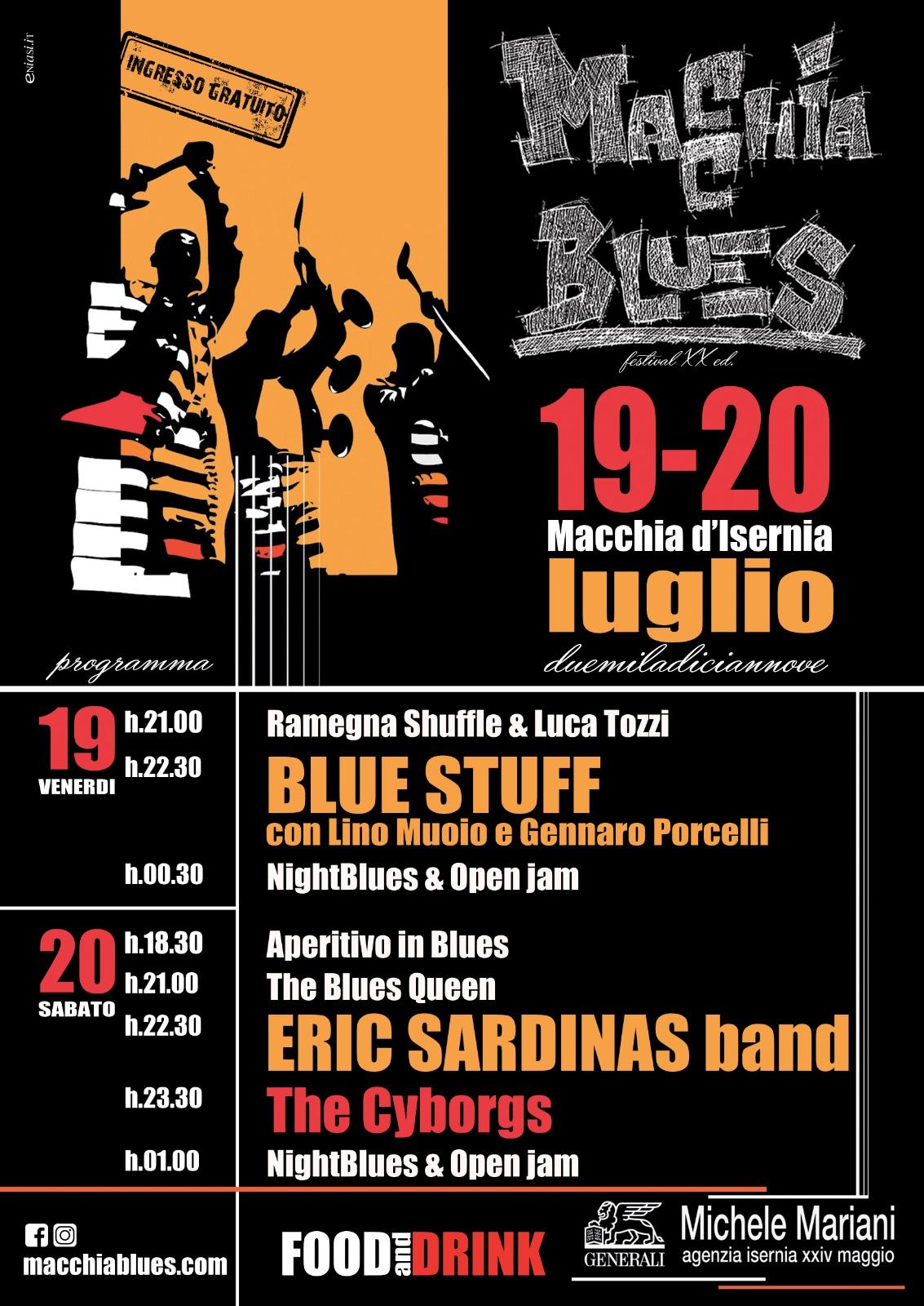 Macchia Blues Festival XVIII edizione - 2019